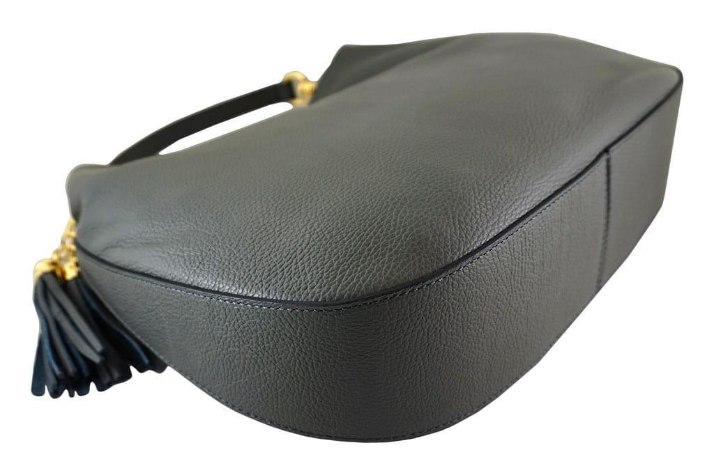 Barberini's włoska torebka skórzana Czarna